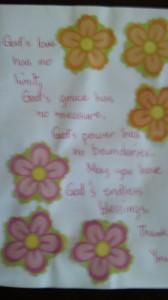 ジャニンからの手紙